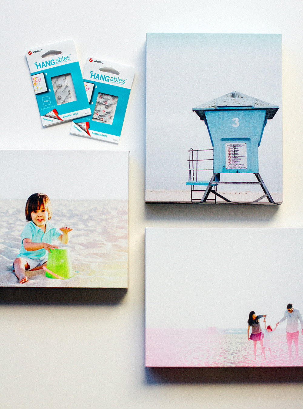 Creating Quick + Easy Wall Art with Mixbook Photo Canvases | Amy Tangerine