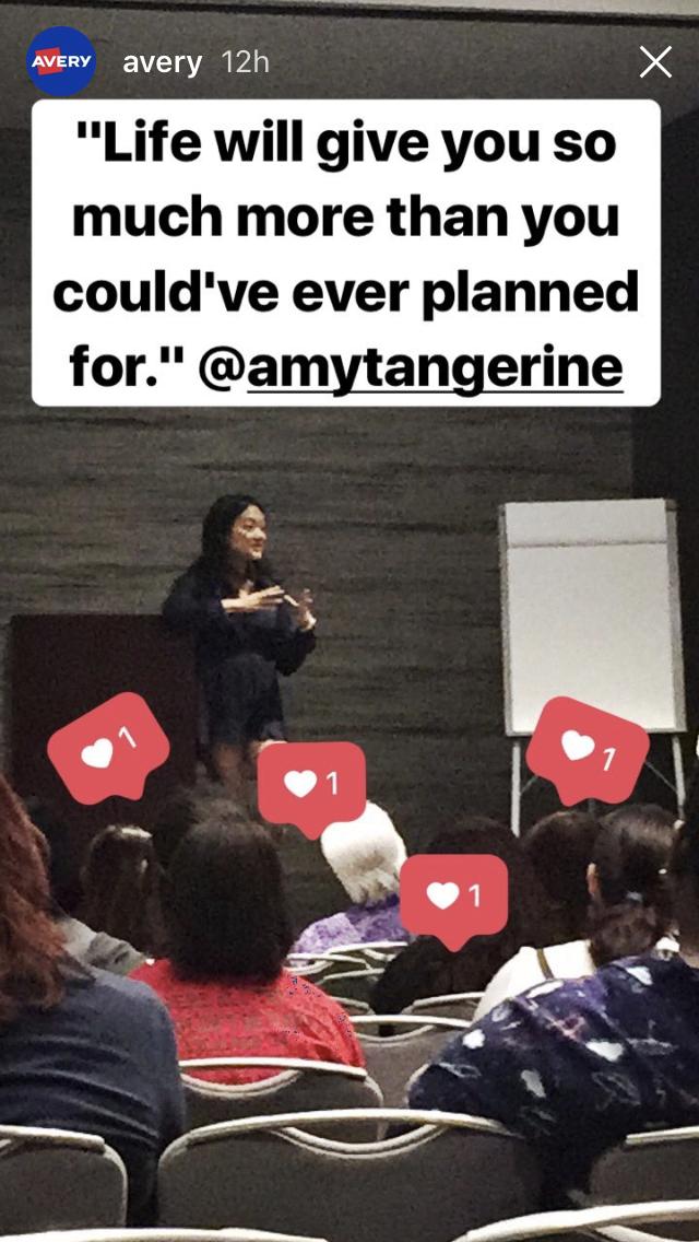 Amy Tangerine PlannerCon