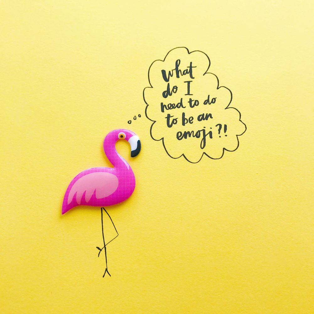 Flamingo Emoji please!!