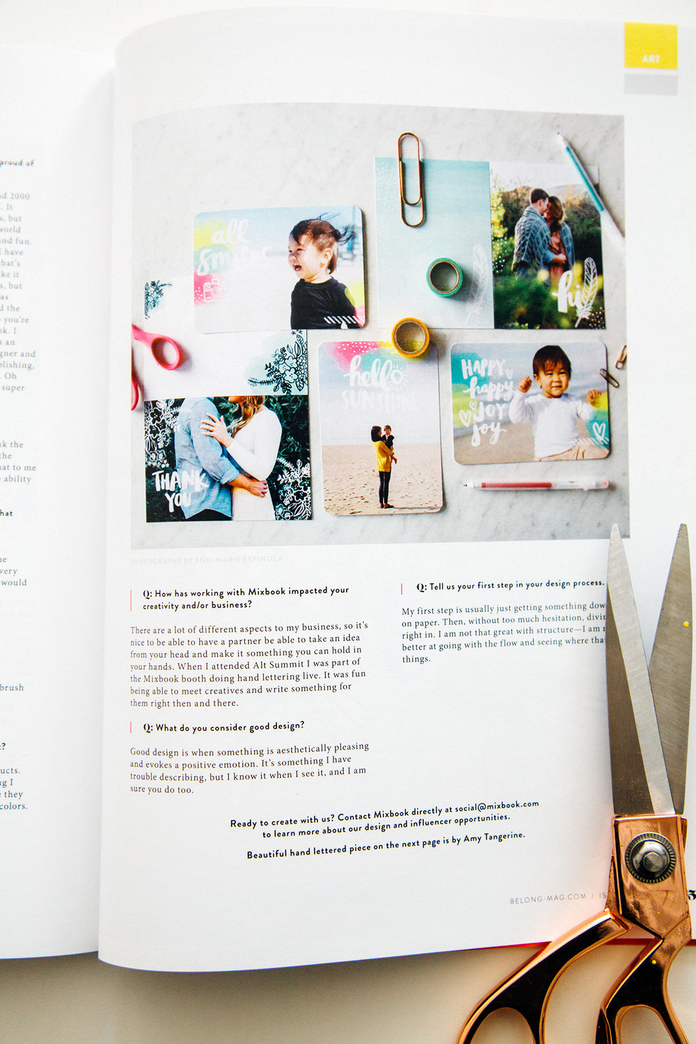 So honored to be in these gorgeous magazines - Project Calm and BELONG!  It's so fun being able to hold these in your hands and flip through them.  The design ...
