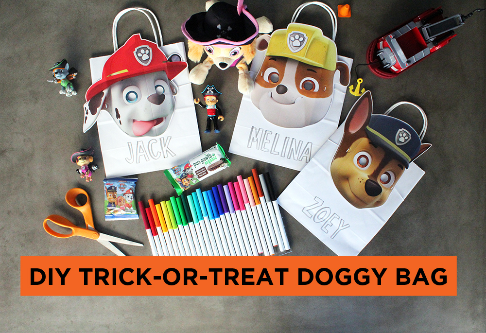 DIY Trick-Or-Treat Doggy Bag + more!
