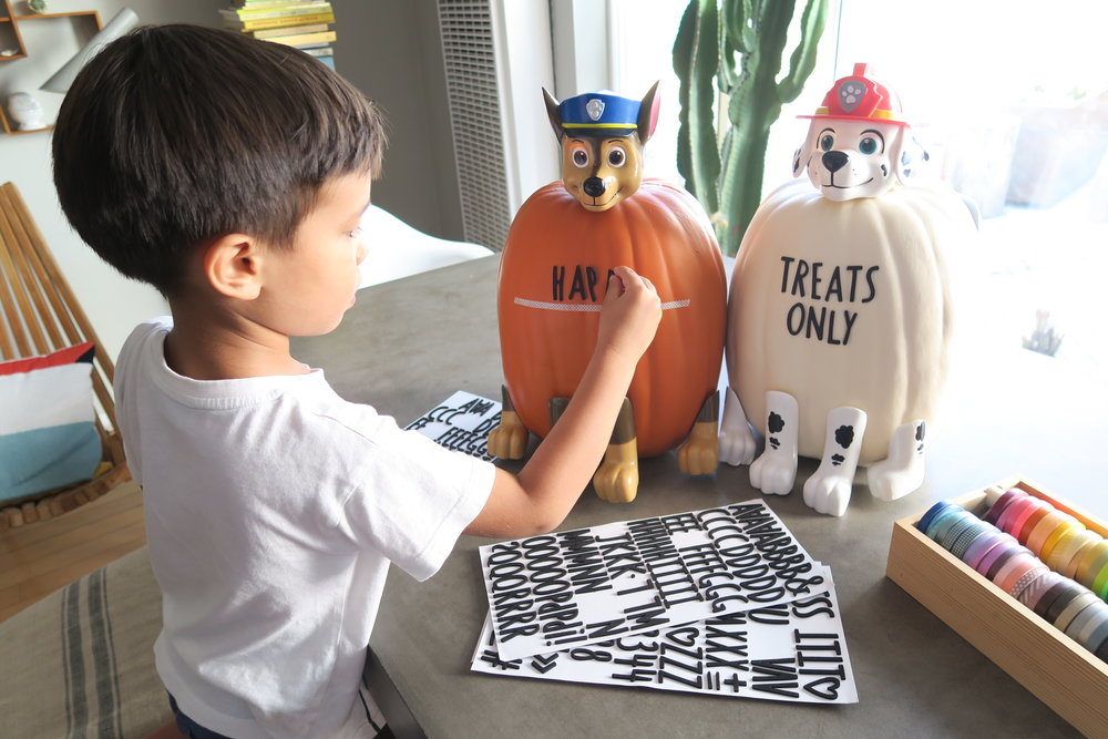 PAW Patrol DIY Trick-Or-Treat Doggy Bag + more!