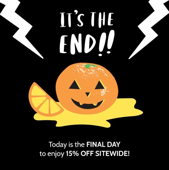 Amy Tangerine Halloween Sale