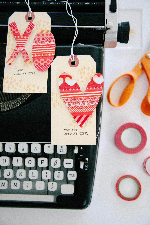 Fiskars Valentine's Cards | Amy Tangerine