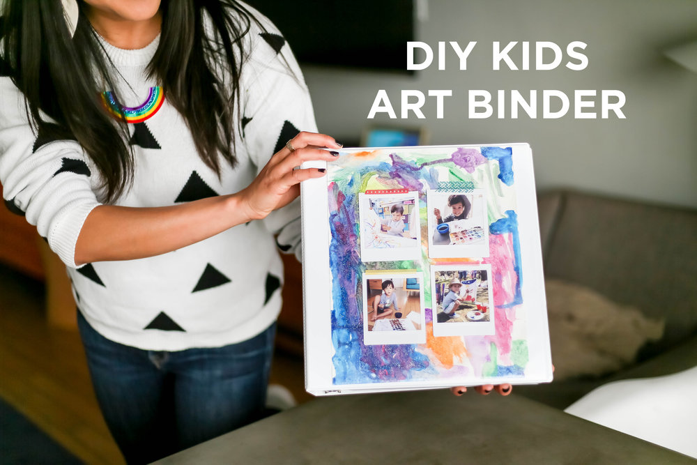 Kids Art Binder