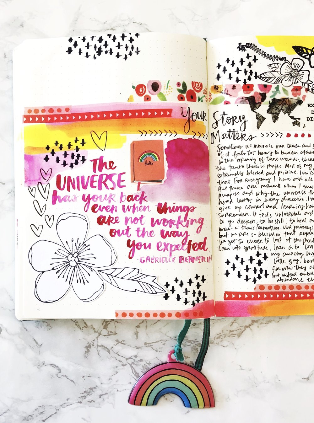 Get Messy Art Journal | Amy Tangerine