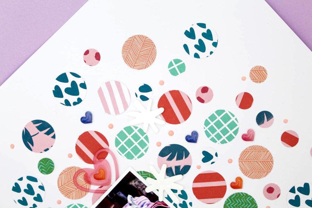 Zinia's Confetti Layout 6