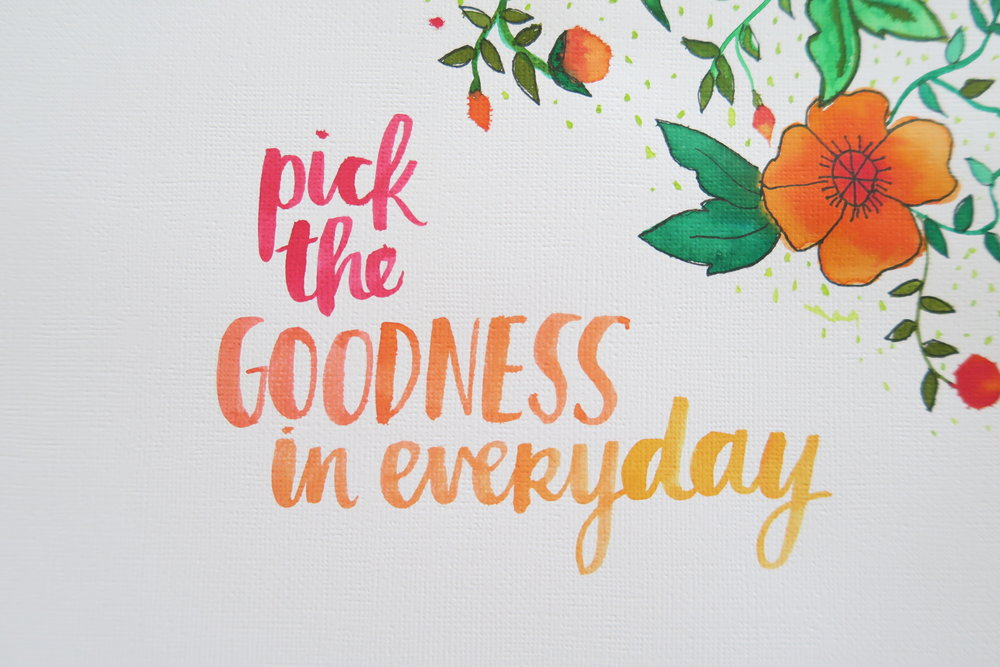 pick the goodness in everyday