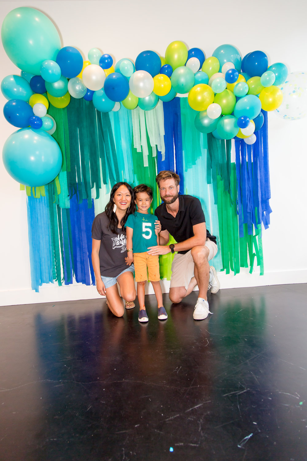 balloon banner | Jack's Art Party
