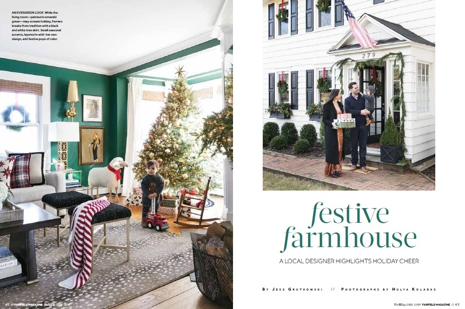Fairfield Magazine - 2018 Holiday Issue