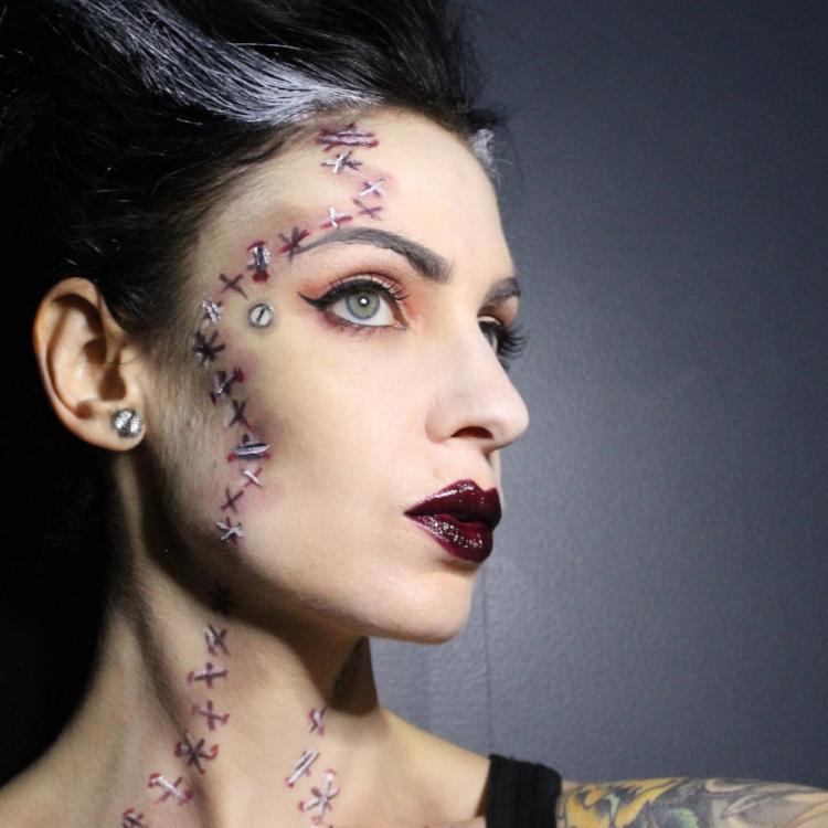 Halloween Face Effects   Halloween Special Effects Artistry By Erin Rachel