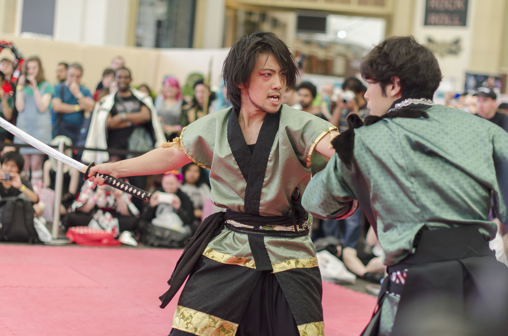 The impressive martial arts demonstrations offer everything from kendo to choreographed karate