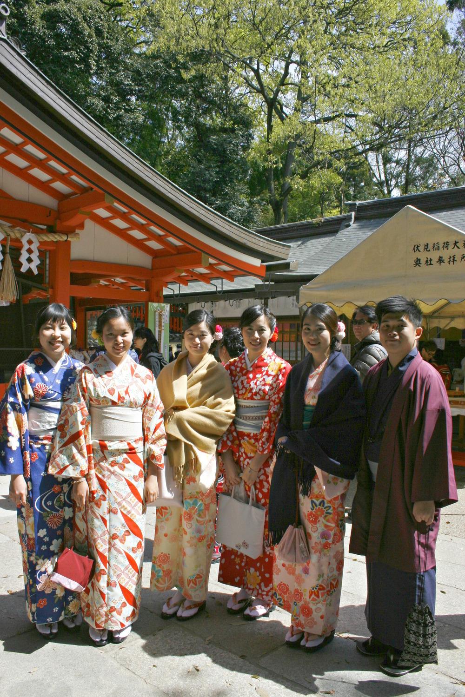 Traditional Kimono, Kyoto