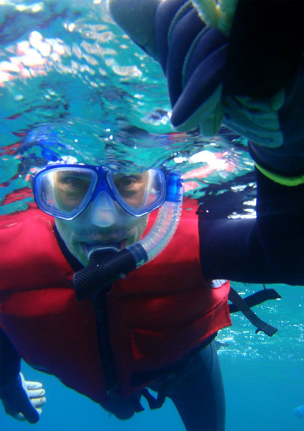 Snorkelling the tropical waters of Okinawa