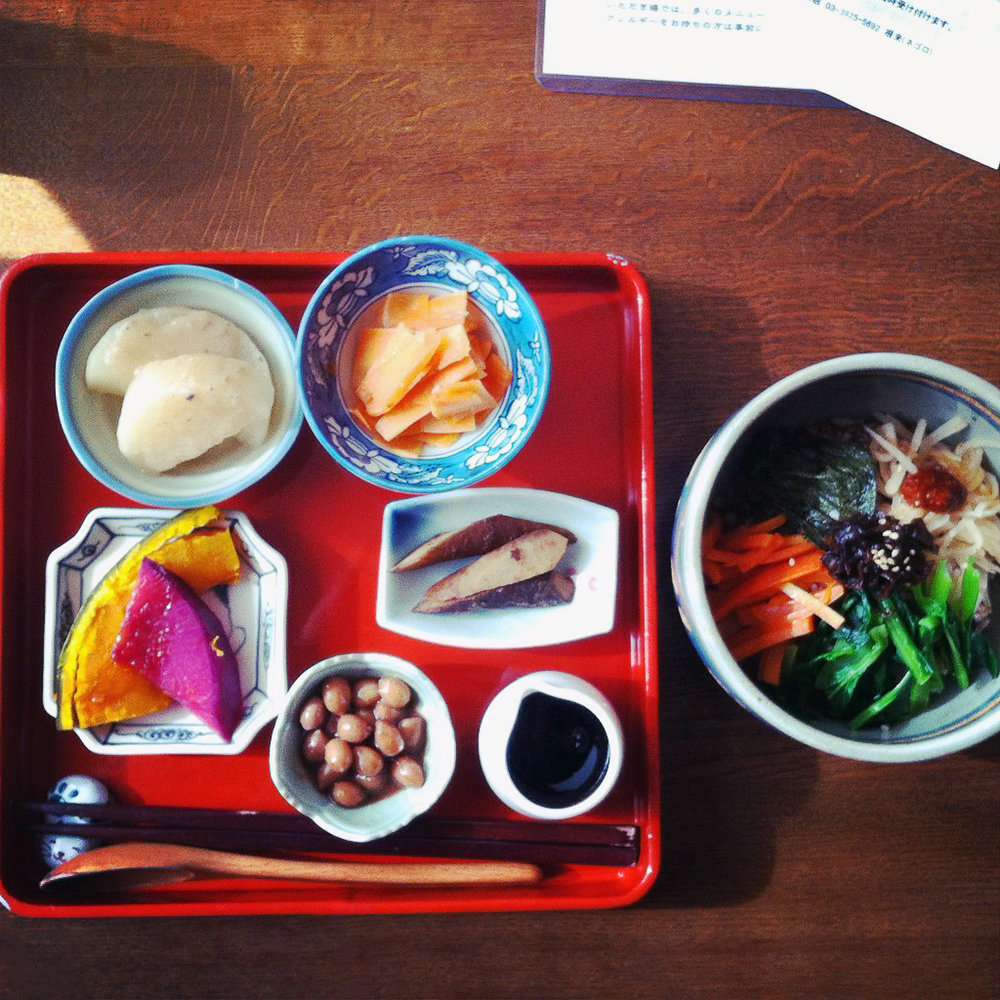 Lunch set at Itadakizen