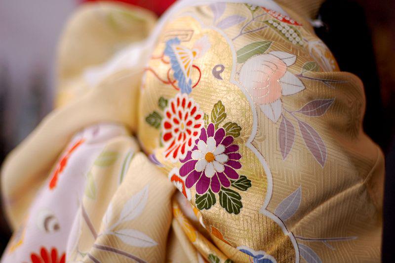 Kimono detail. Image by  Musume Miyaki