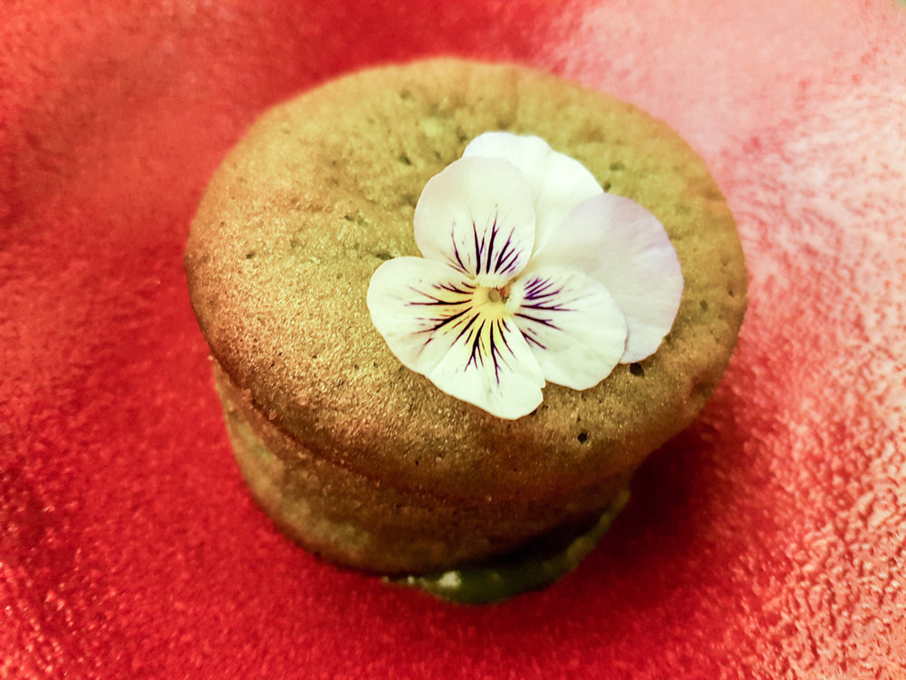 sakagura matcha green tea gateau