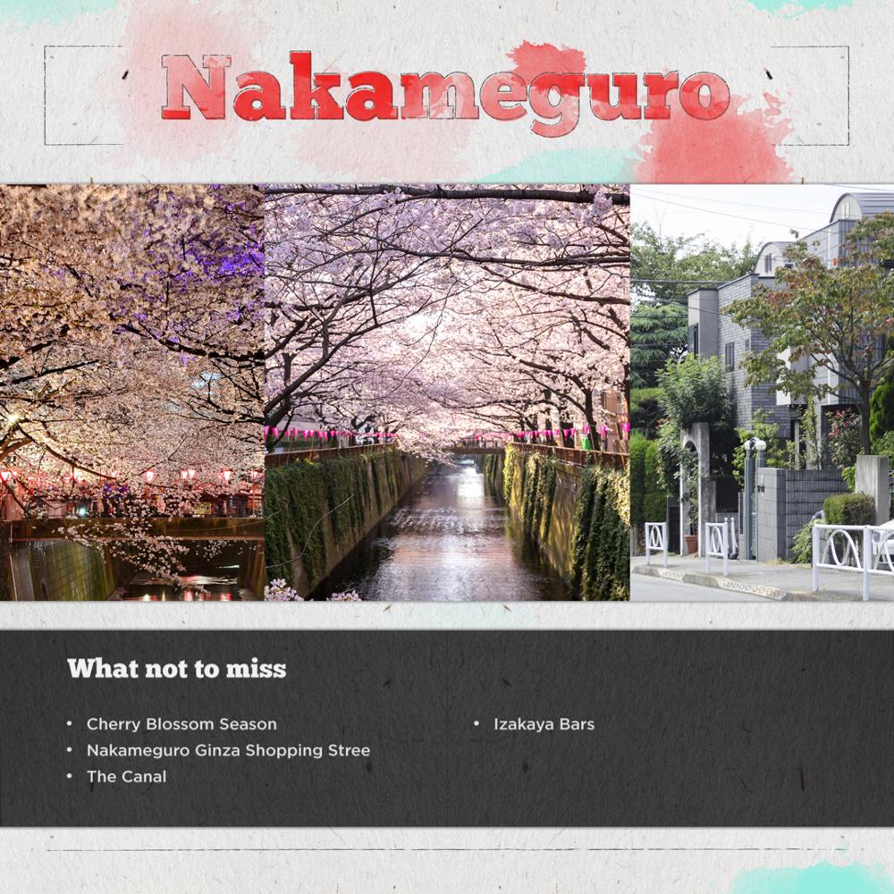 Nakameguro Tokyo Japan