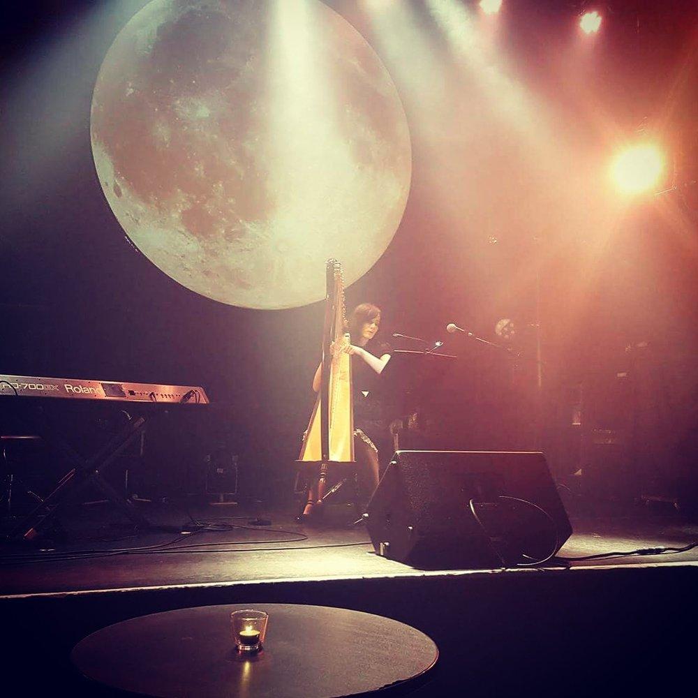 Performing at Moon Romantic, Tokyo