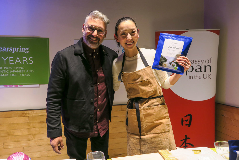 atsukos kitchen clearspring event saoirse clohessy