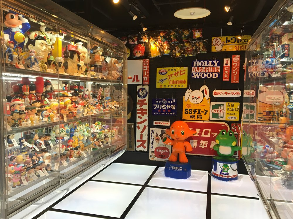 Nakano Broadway is filled with unique vintage goods