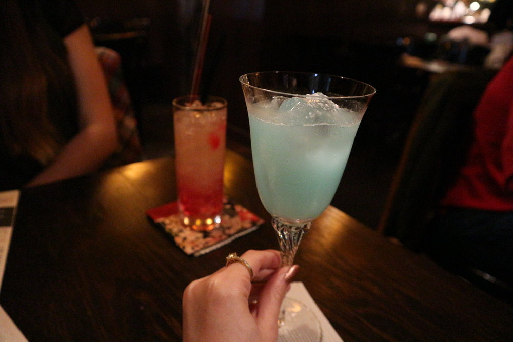 The Cinderella Cocktail at the Whales of August bar, Shibuya