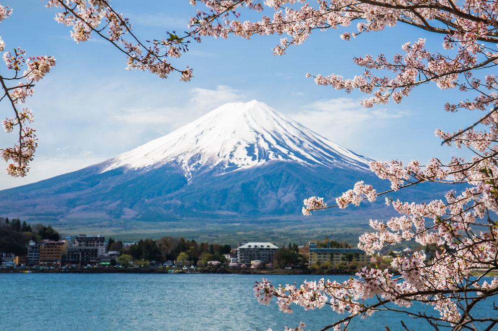 mount fuji tokyo japan