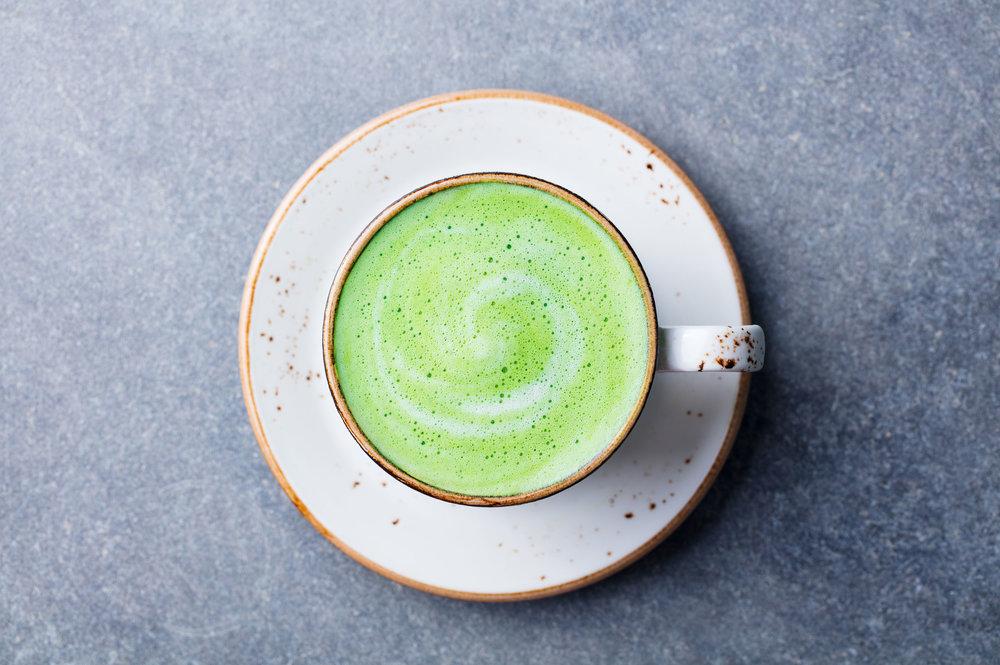 matcha green tea latte tokyo japan