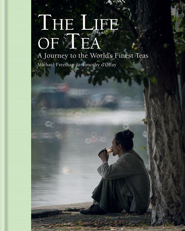 Life of Tea by Timothy d'Offay has been shortlisted for the Andre Simon Book Awards 2019. . Timothy, owner of @postcardteas first became fascinated by tea and its traditions when he lived in Kyoto. The book follows his travels around Asia with photographer Michael Freeman as they meet the producers of some of the world's finest teas.🍵 . If you're a tea drinker and enthusiast then it's definitely worth adding to your book collection! 📚