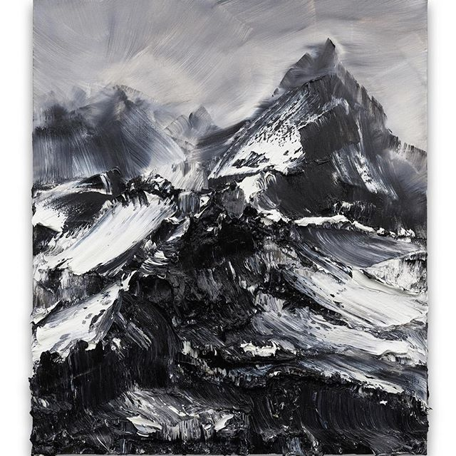 Already a big hit in #Japan - make sure you don't miss Conrad Jon Godly's first UK solo exhibition 'To See Is Not To Speak' at the JD Malat Gallery #London 🏔 . Living between Switzerland and Japan, Godly's large scale paintings are inspired by mindful meditation and his surroundings - capturing the emotions and light of the mountains . Head to a meet and greet at the gallery on 25th Jan from 2-5pm where the artist will be signing poster copies of his work. The exhibition continues until 2nd March 2019.