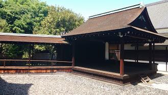 Japan's oldest Noh Stage at Nishi Honganji Temple, © Finn Burton, 2017