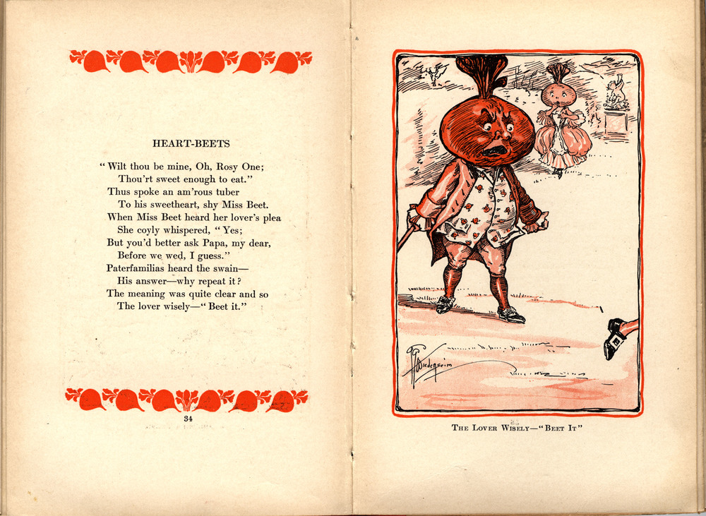 """Heart-Beets,"" from the first edition."