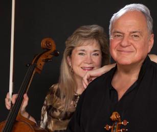 Sharon Robinson and Jaime Laredo