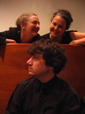 Elaine Valby, Gilda Lyons, and Robert La Rue