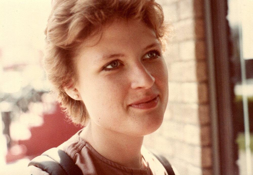 Karen Hale in 1984.