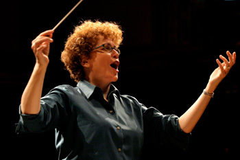Conductor Judith Clurman premiered the work.