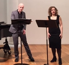 Joseph Gaines & Justine Aronson perform After Words in New York.