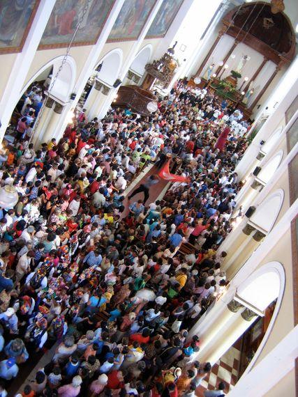 Basílica Menor de San Sebastián, Diriamba, Nicaragua, March 2005. (Photo: Daron Hagen)
