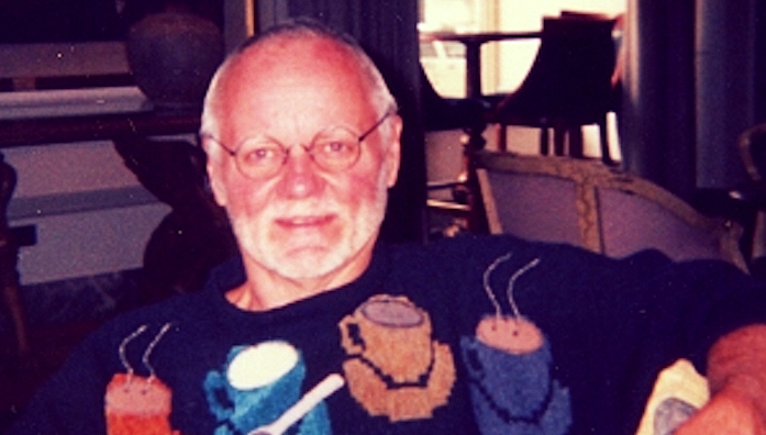 Wallace Tomchek at the Chicago Hilton, summer 1997. (Photo: Earl Hagen)
