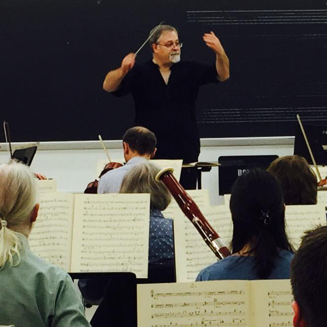 Daron Hagen conducts the Orchestra Society of Philadelphia in the Copland Symphony No. 3.