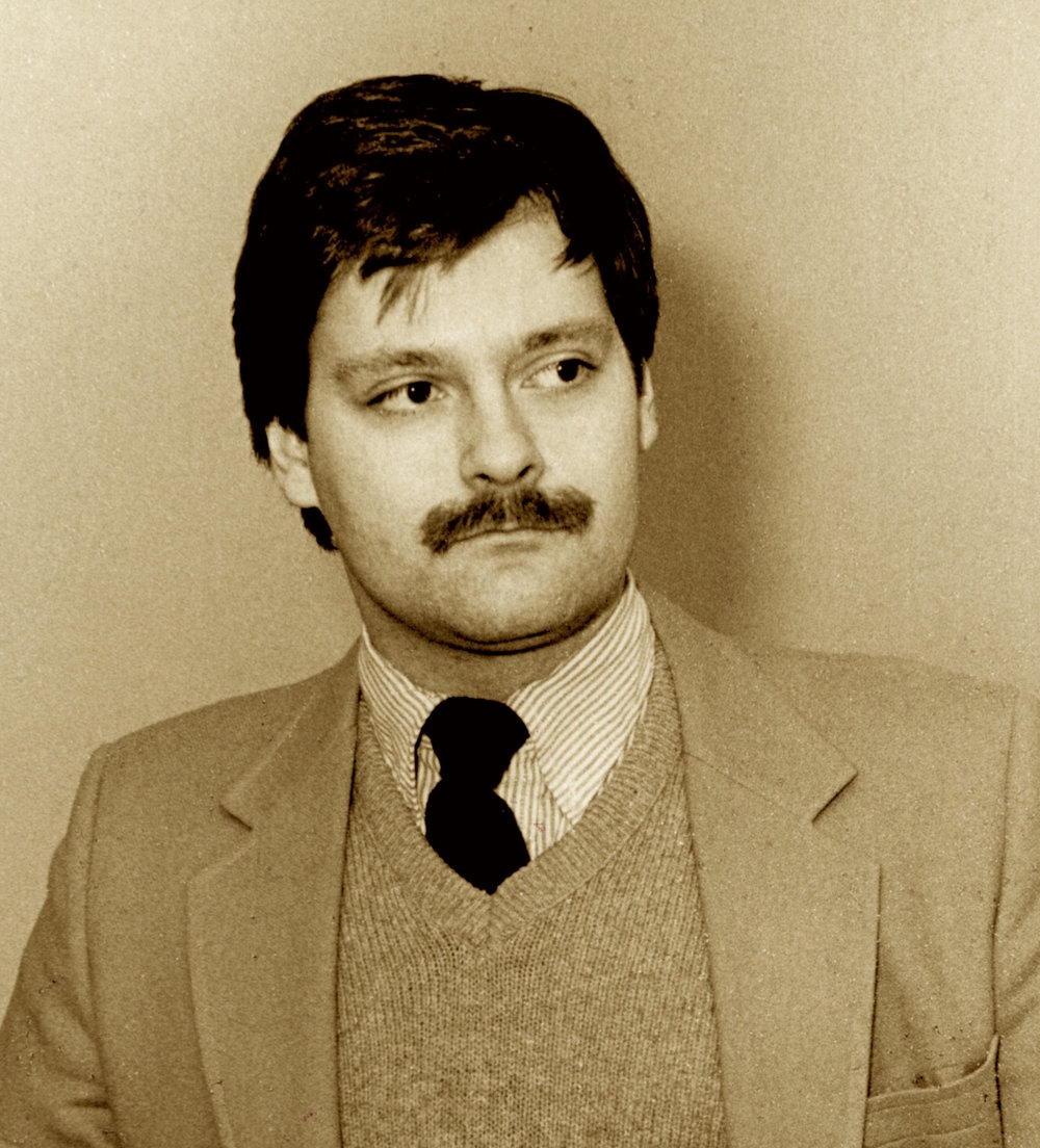 Daron Hagen in 1987.