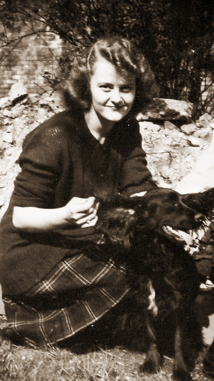 Gwen Hagen at the age of 16.