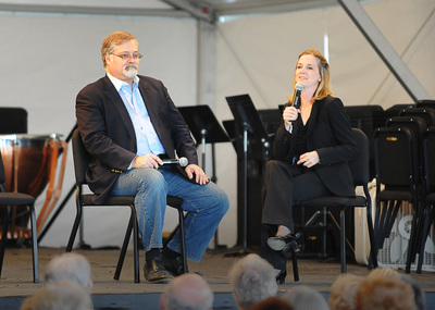 Daron Hagen and Erin Freeman in 2015.