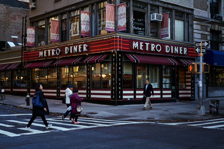 The Metro Diner at 100th and Broadway, in Manhattan.