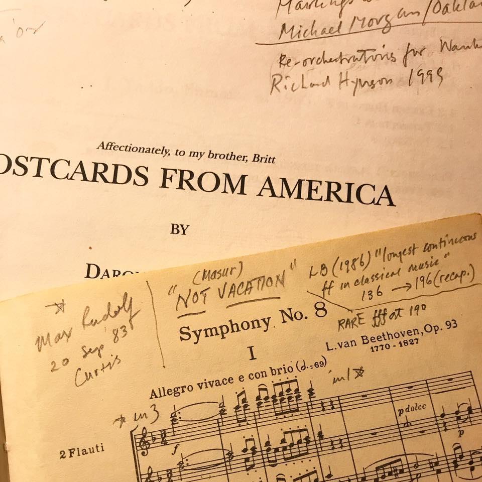Pocket Scores and Patrimony — Daron Hagen