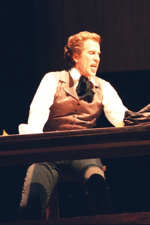 Michael Sokol as Wright in the 1993 Madison Opera production.