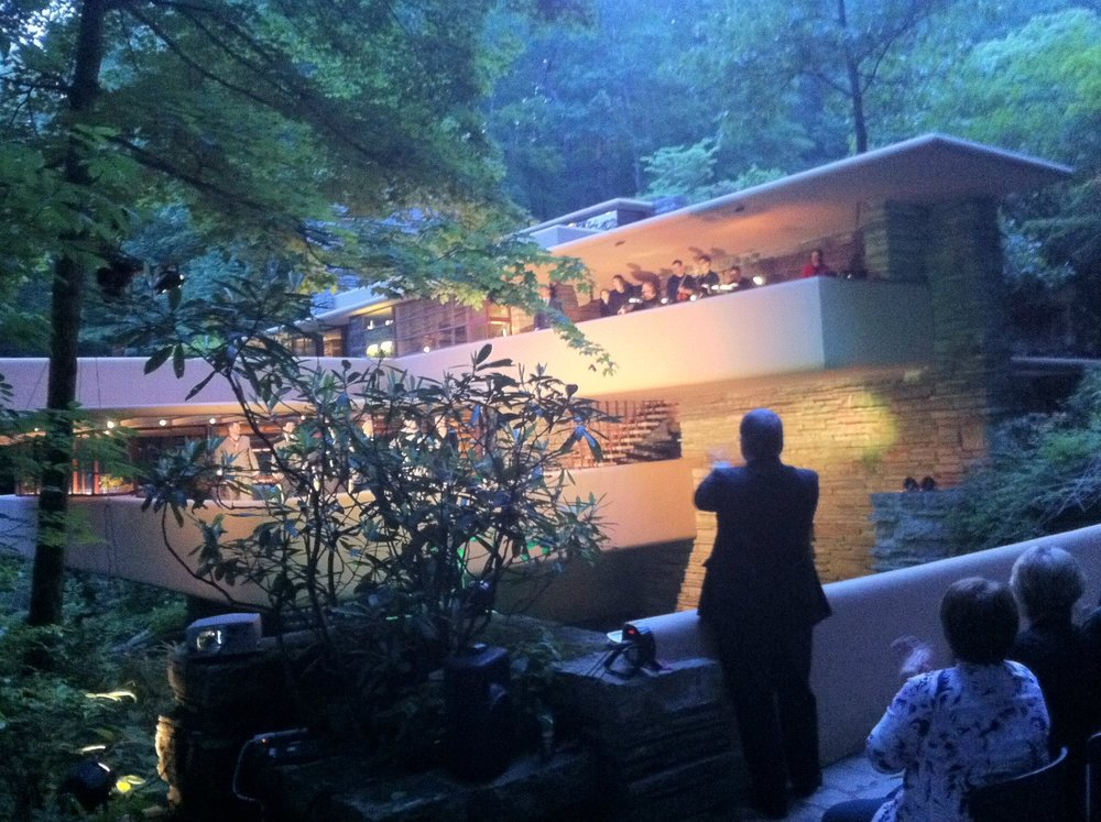 The Fallingwater premeire by Opera Festival of Pittsburgh in 2013.