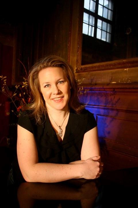 Mezzo soprano Stephanie Weiss.