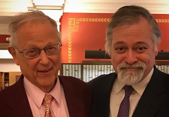 Tenor Paul Sperry and Daron Hagen, 2017. (Photo credit: Neil Erickson)
