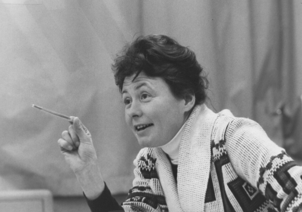 Diane C. Doerfler in 1979. (Photo credit: Cilento)